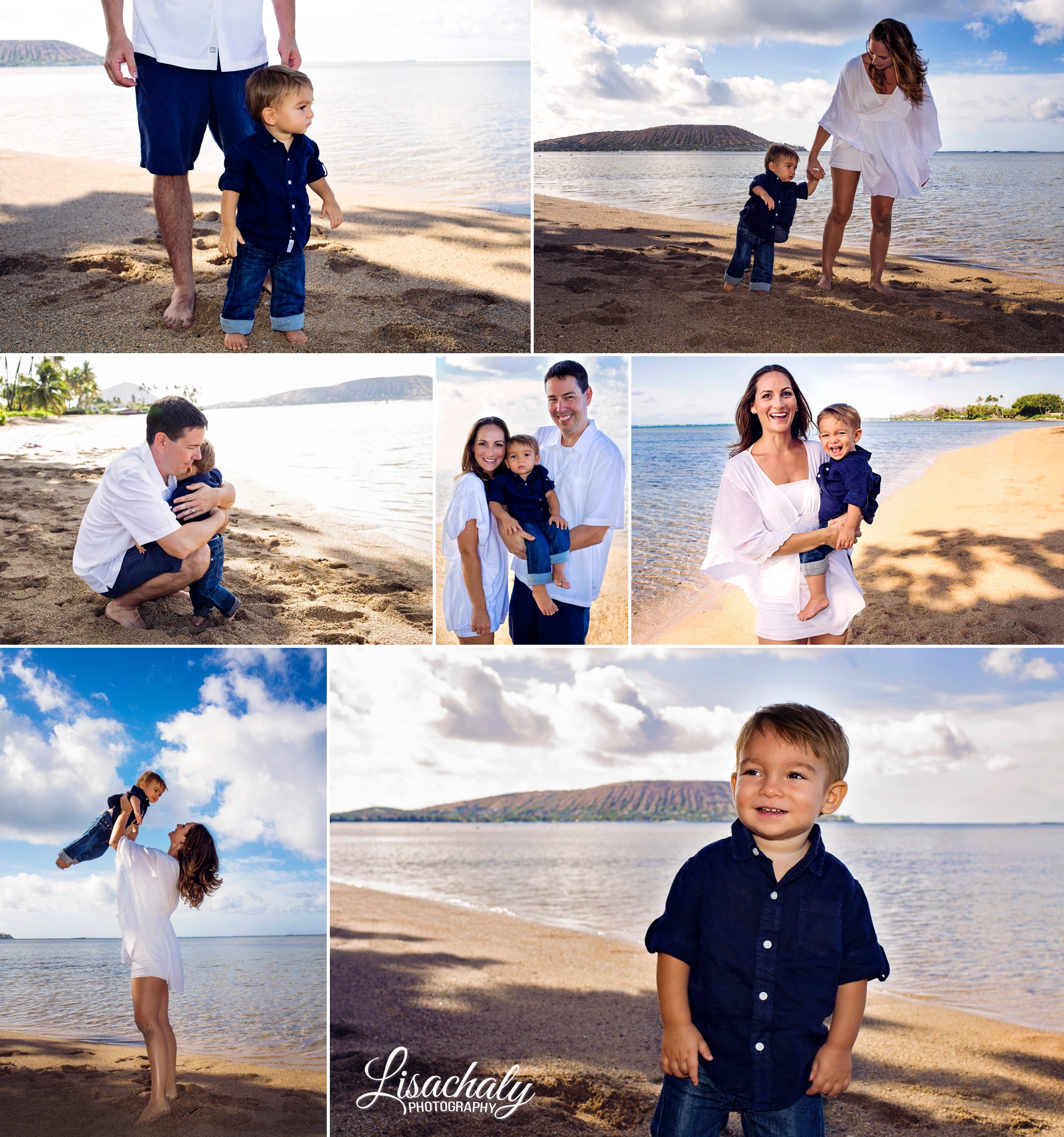 family baby portrait honolulu hawaii photography